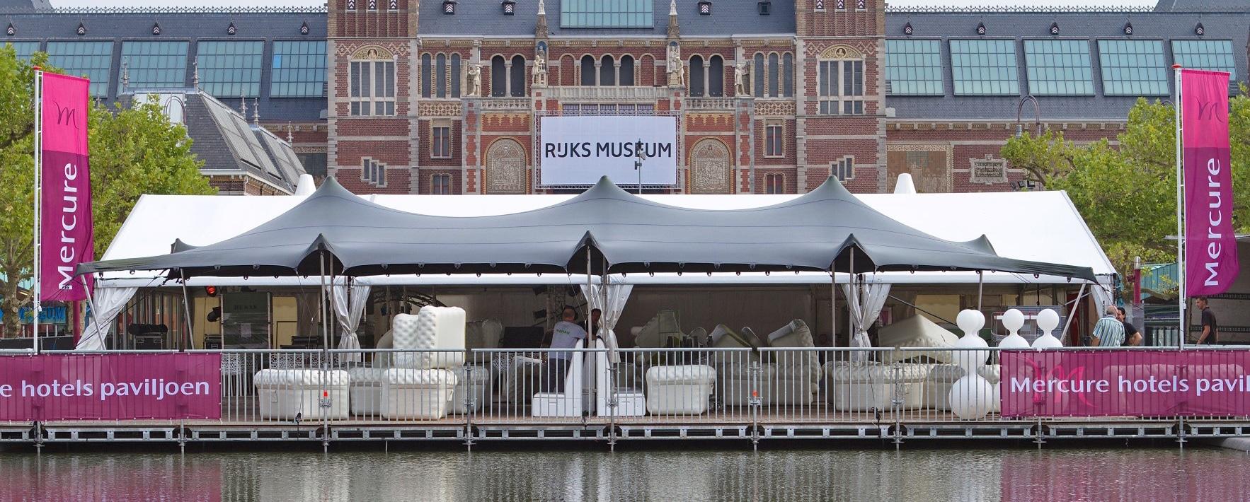 Stretchtent Rijksmuseum Amsterdam