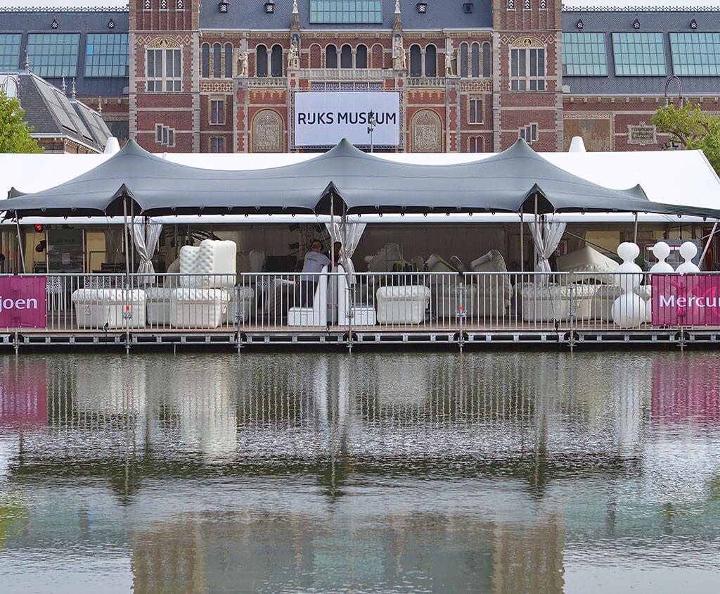 Flextent bij Uitmarkt Rijksmuseum