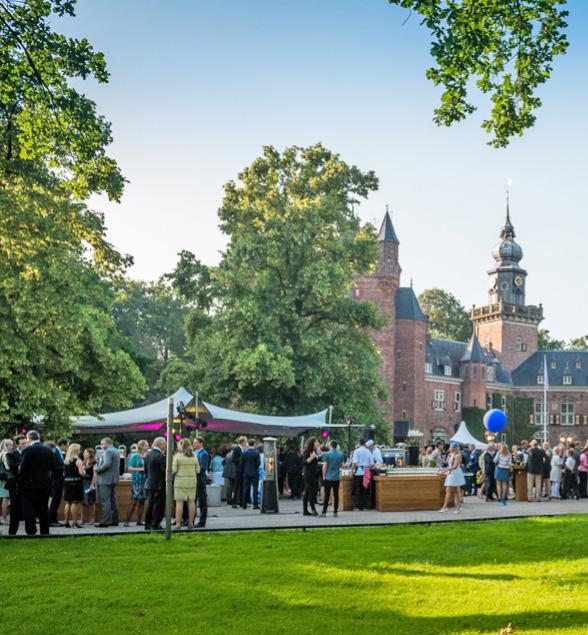 Flextent zomerfeest kasteel Nijenrode