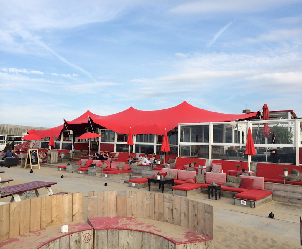Beachclub Culpepper met Flextent overkapping