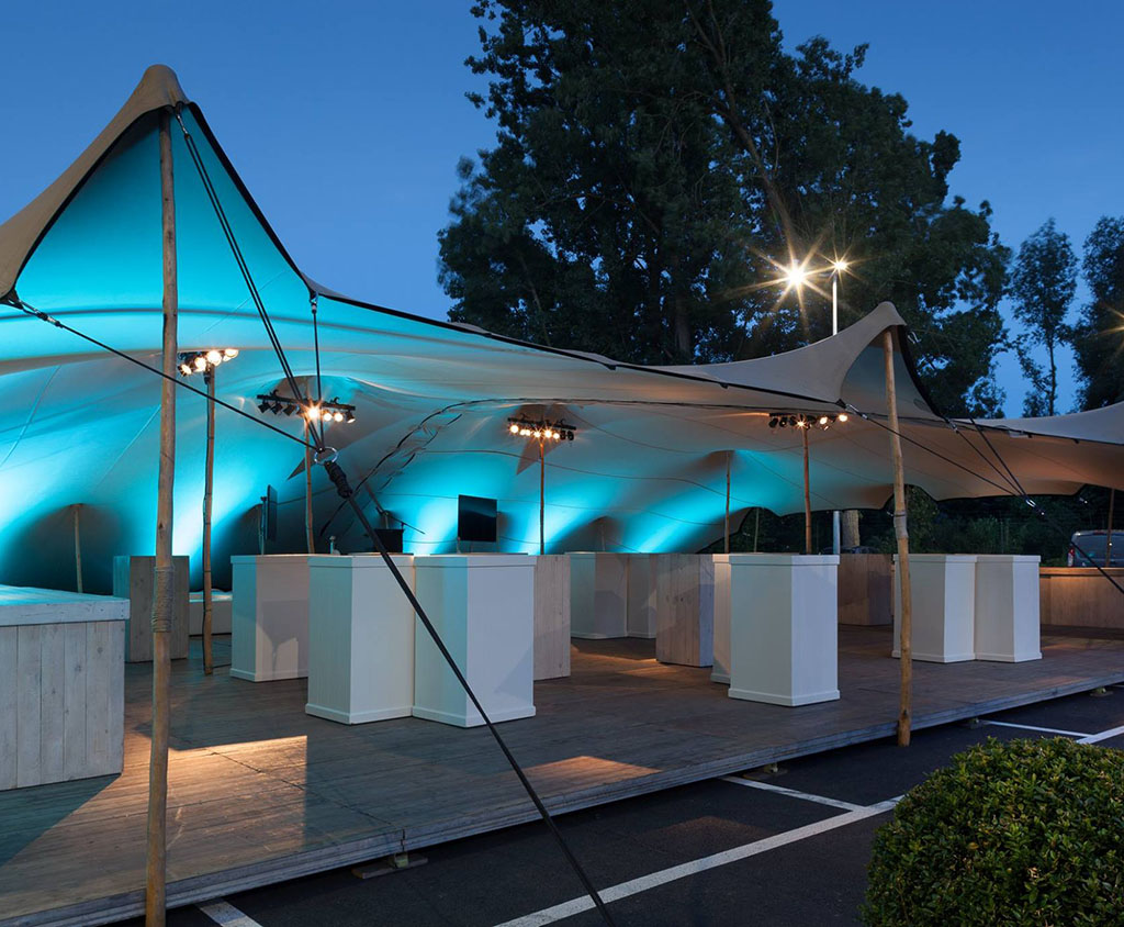 Tent Overkapping Tuin : Tentdoek overkapping flextent stretchtent kopen