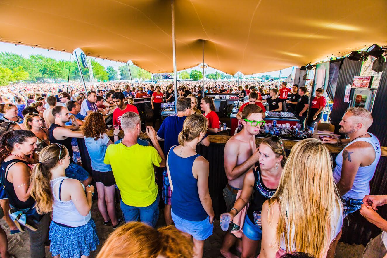Stretchtenten voor evenementen en festivals