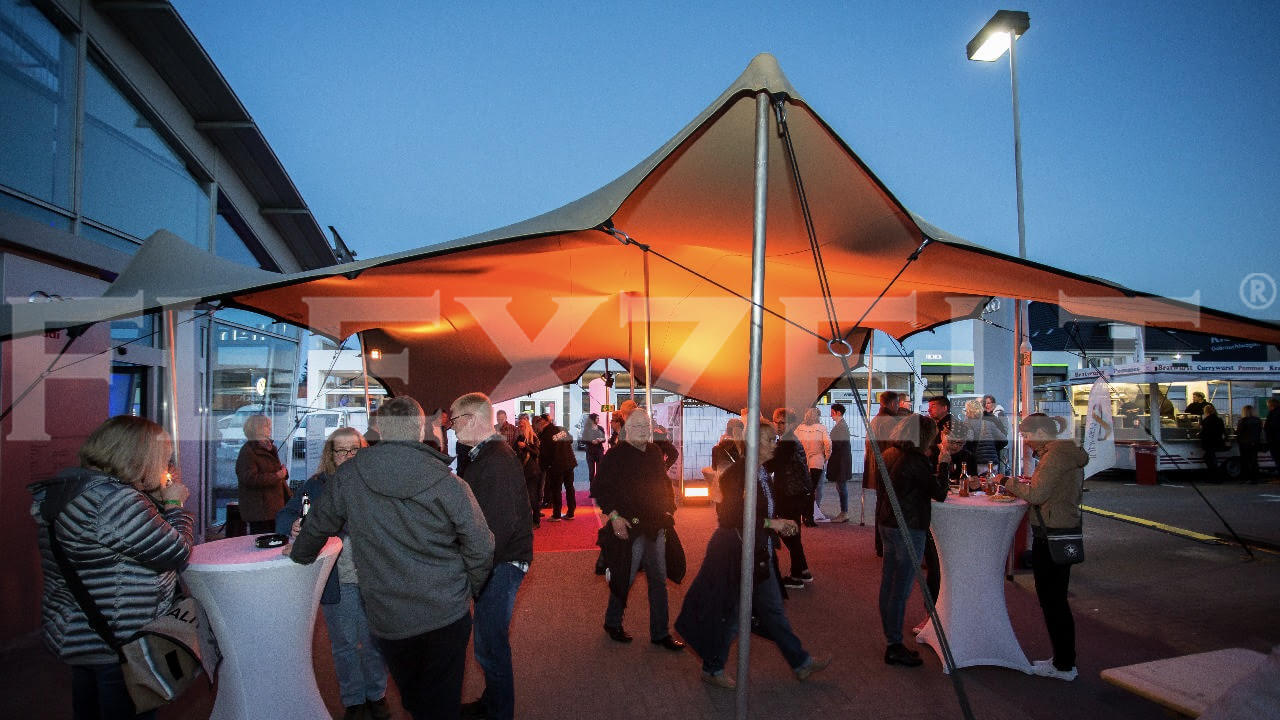 Flextent® - Bedrijfsevenement - Flexzelt® - Audi
