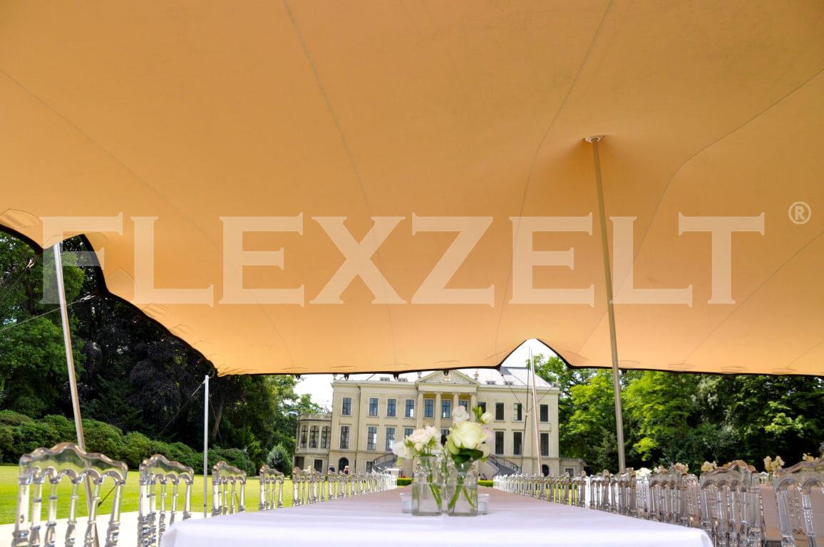 Flexzelt - Flextent - Hochzeit - Burg & Schloss
